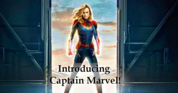 Introducing Captain Marvel!